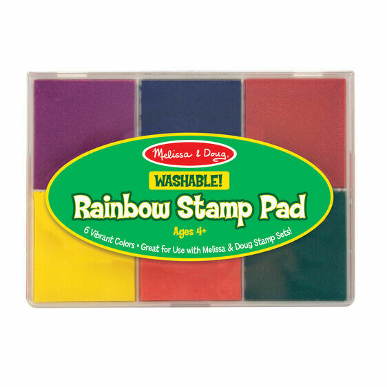 Melissa And Doug; Rainbow Stamp Pad