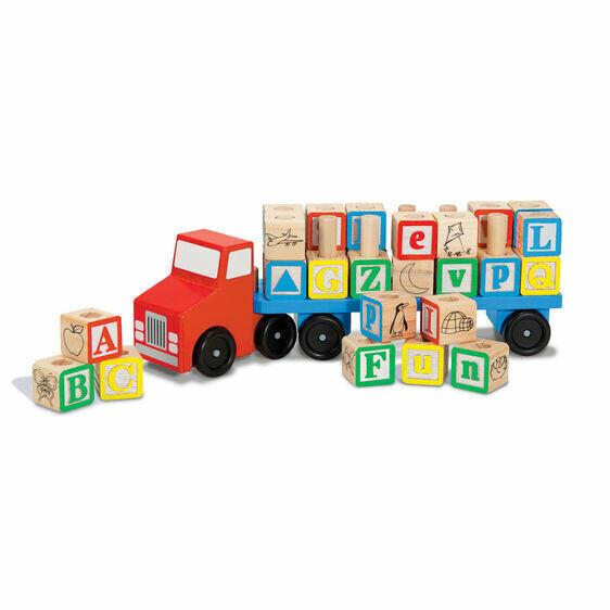 Melissa And Doug; Alphabet Truck