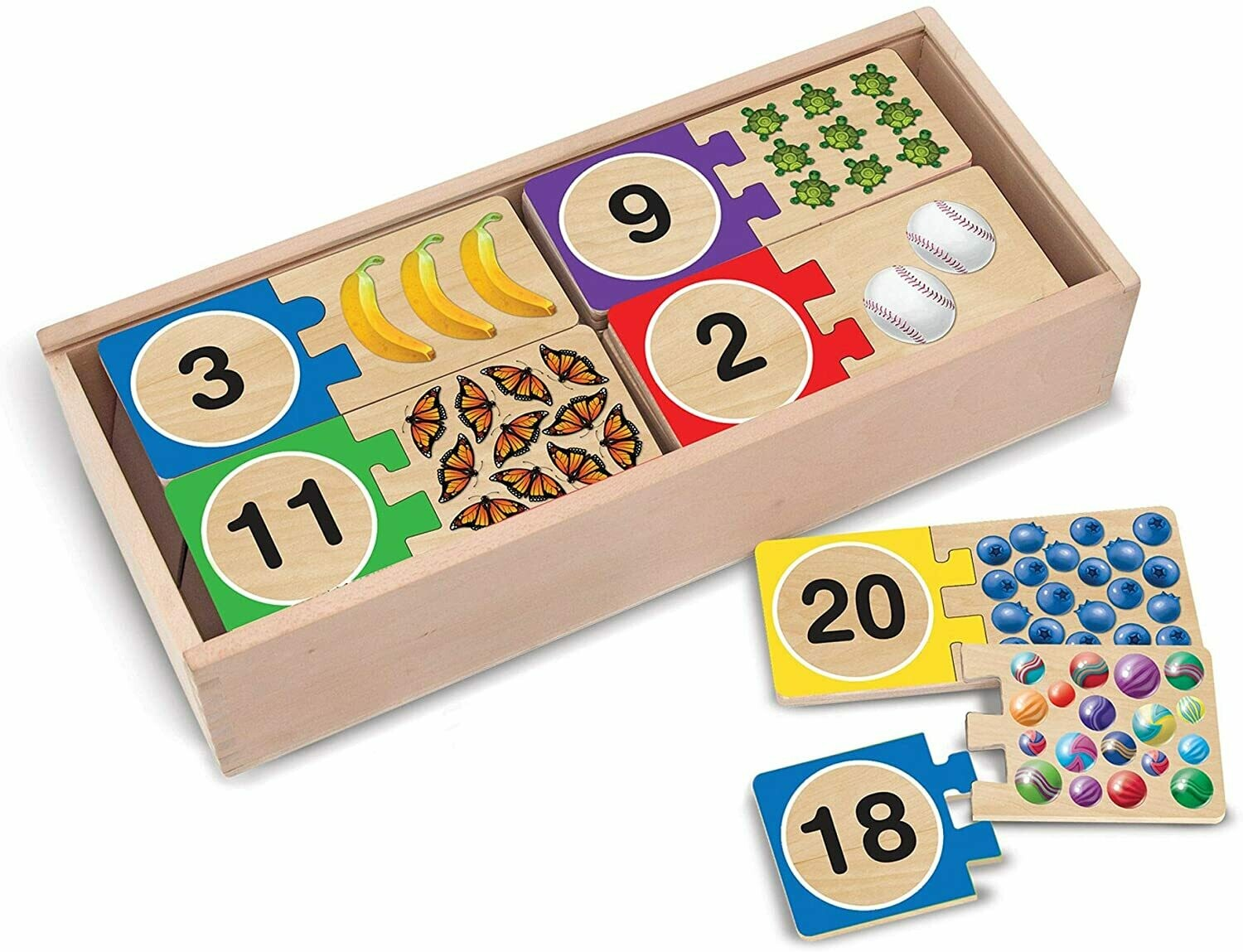 Melissa And Doug; Self-Correcting Number Puzzles