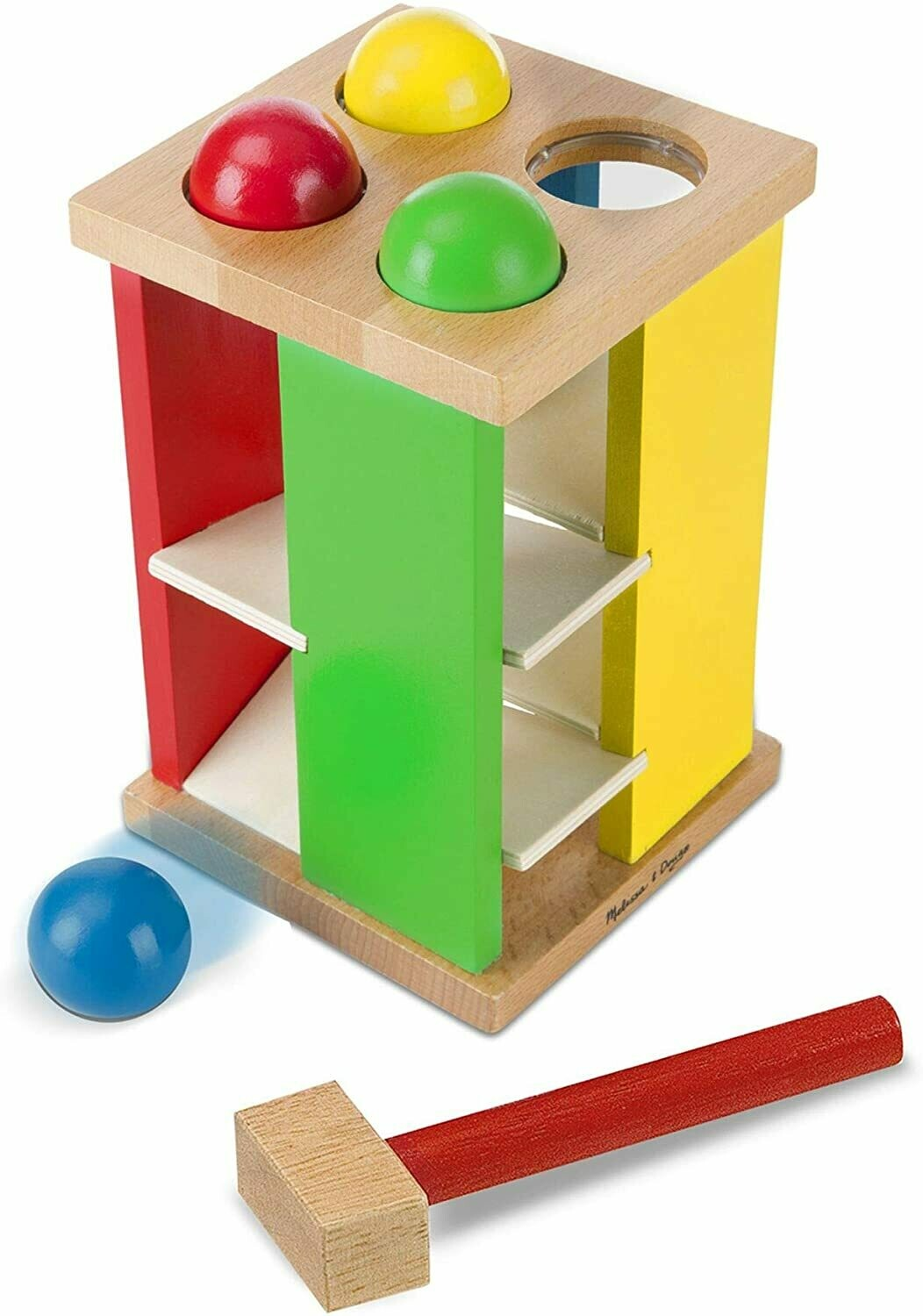 Melissa And Doug; Pound And Roll Tower
