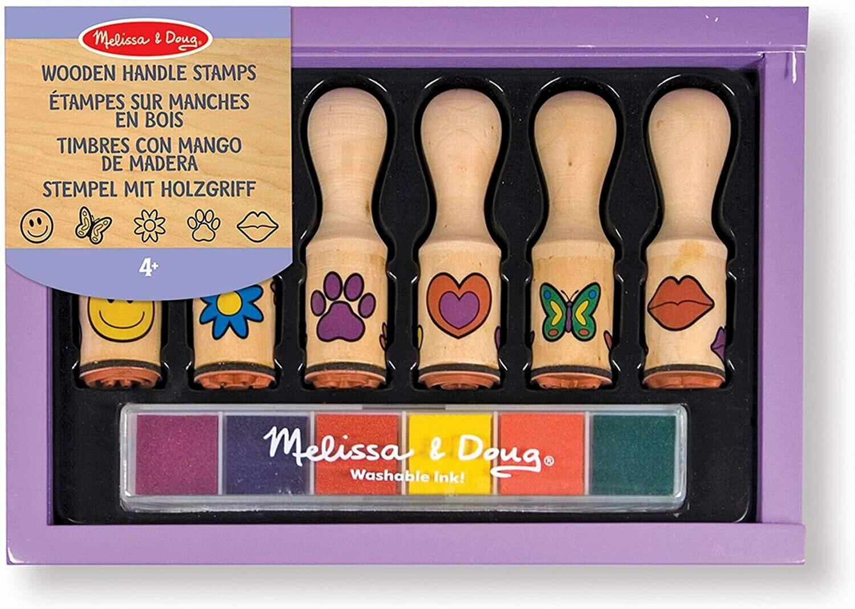 Melissa And Doug; Happy Handle Stamp Set