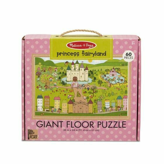 Melissa And Doug; Np Giant Floor Puzzle - Princess Fairyland