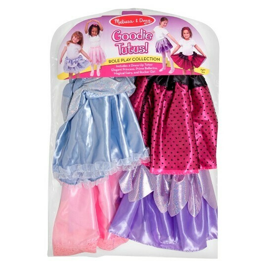Melissa And Doug; Dress-Up Tutus Role Play Collection