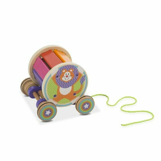 Melissa And Doug; Pull And Play Xylophone
