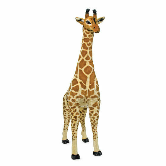 Melissa And Doug; Giraffe - Plush