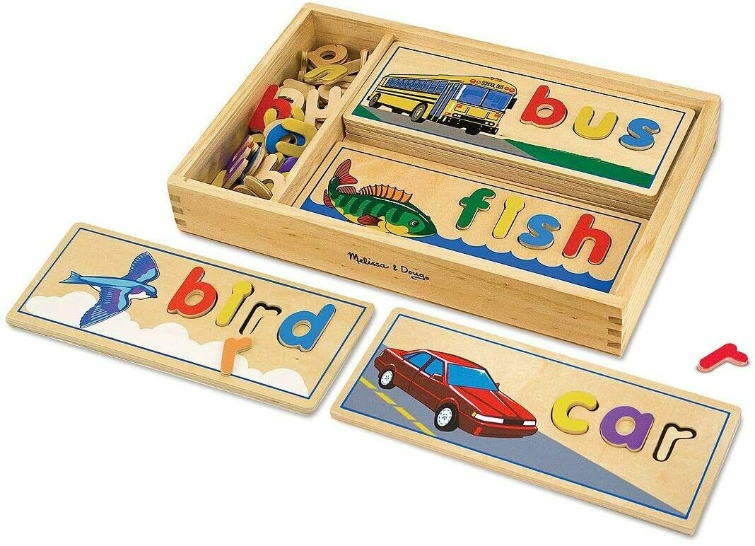 Melissa And Doug; See & Spell