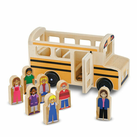 Melissa And Doug; School Bus