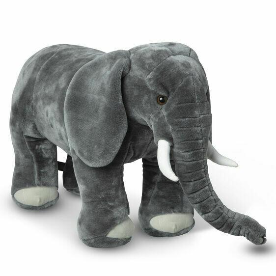 Melissa And Doug; Elephant - Plush