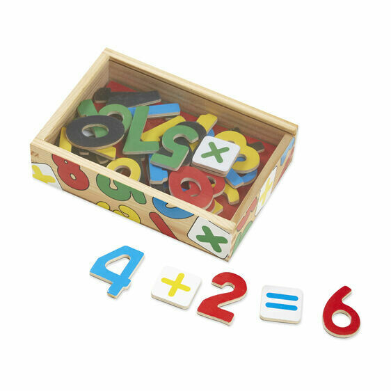 Melissa And Doug; Magnetic Wooden Numbers