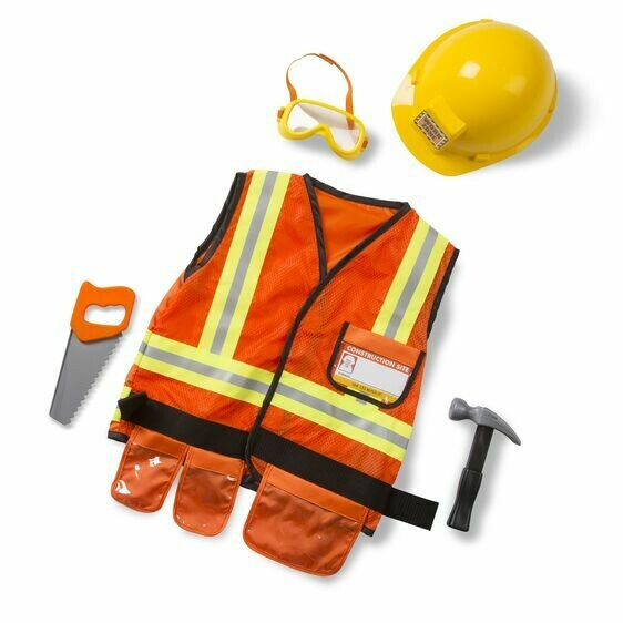 Melissa And Doug; Construction Worker Role Play