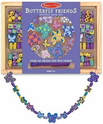 Melissa And Doug; Butterfly Friends Bead Set