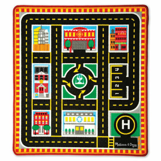 Melissa And Doug; Round The City Rescue Rug