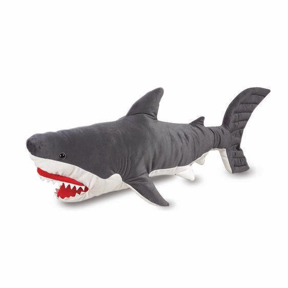 Melissa And Doug; Shark Plush