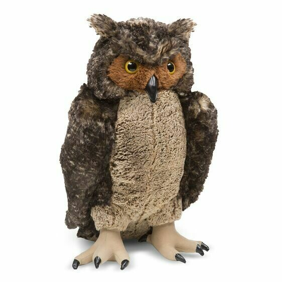 Melissa And Doug; Owl - Plush