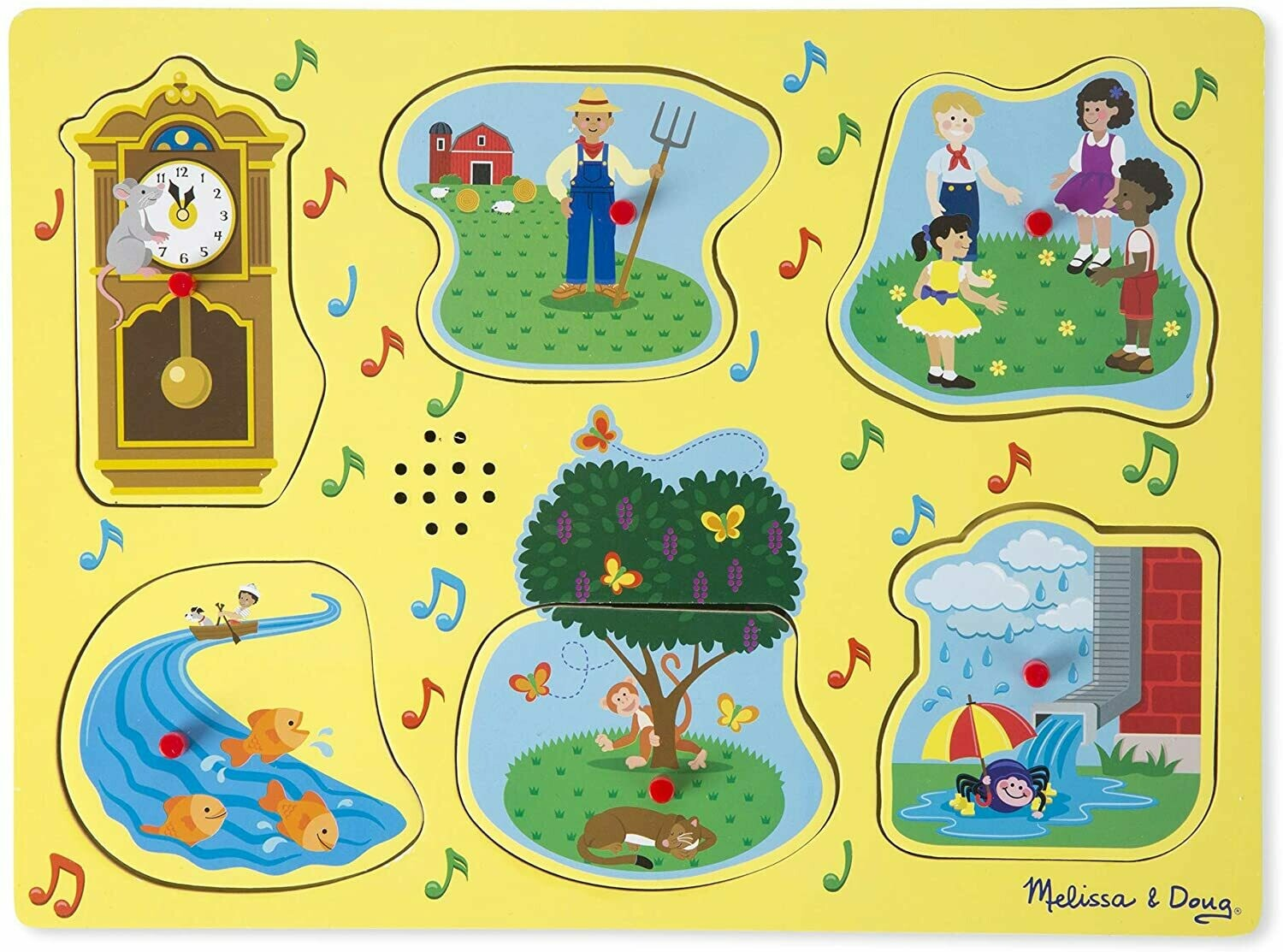 Melissa And Doug; Nursery Rhymes 1 - Sound Puzzle