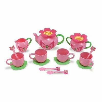 Melissa And Doug; Butterfly Tea Set