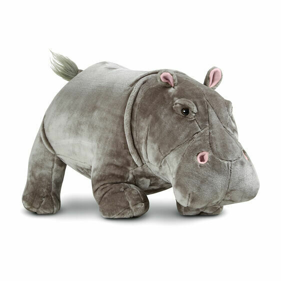 Melissa And Doug; Hippopotamus - Plush