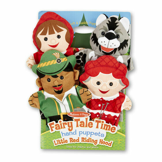 Melissa And Doug; Fairy Tale Time Hand Puppets - Little Red Riding Hood