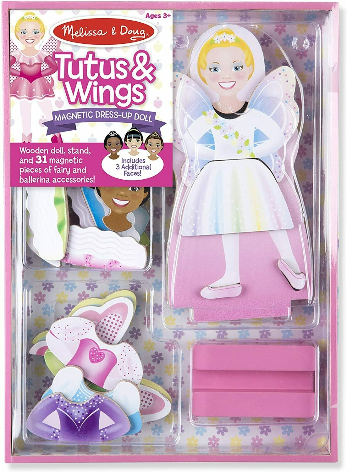 Melissa And Doug; Magnetic Dress-Up - Tutus & Wings