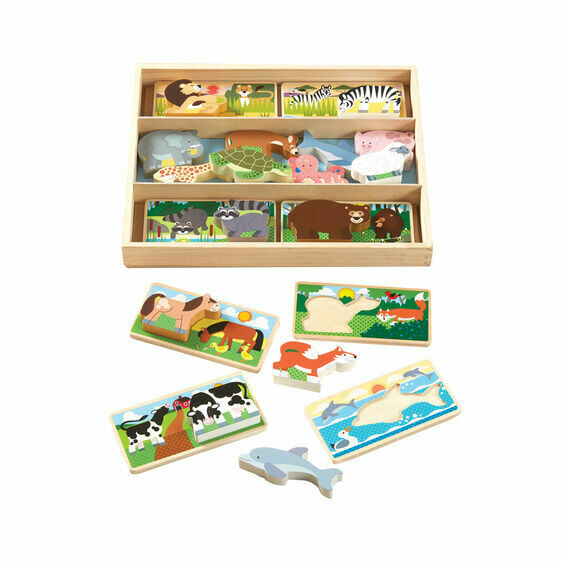 Melissa And Doug; Animal Picture Boards