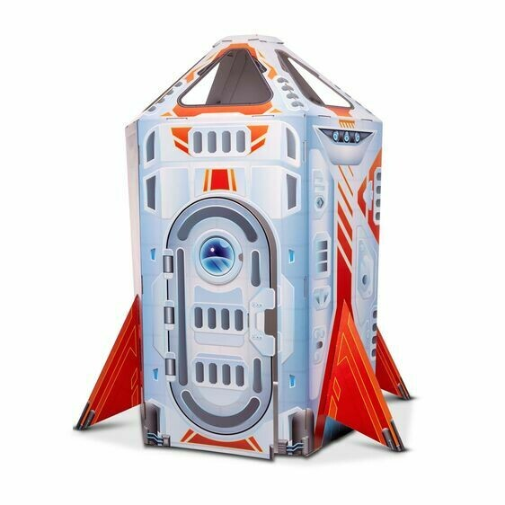 Melissa And Doug; Rocket Ship Indoor Play House