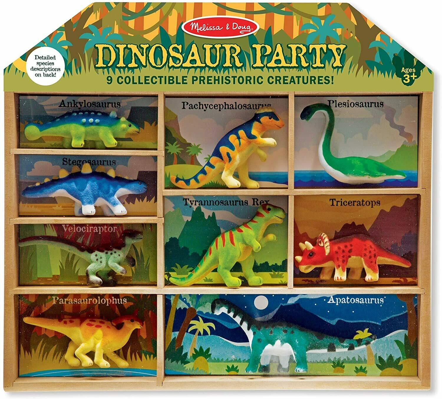 Melissa And Doug; Dino Party