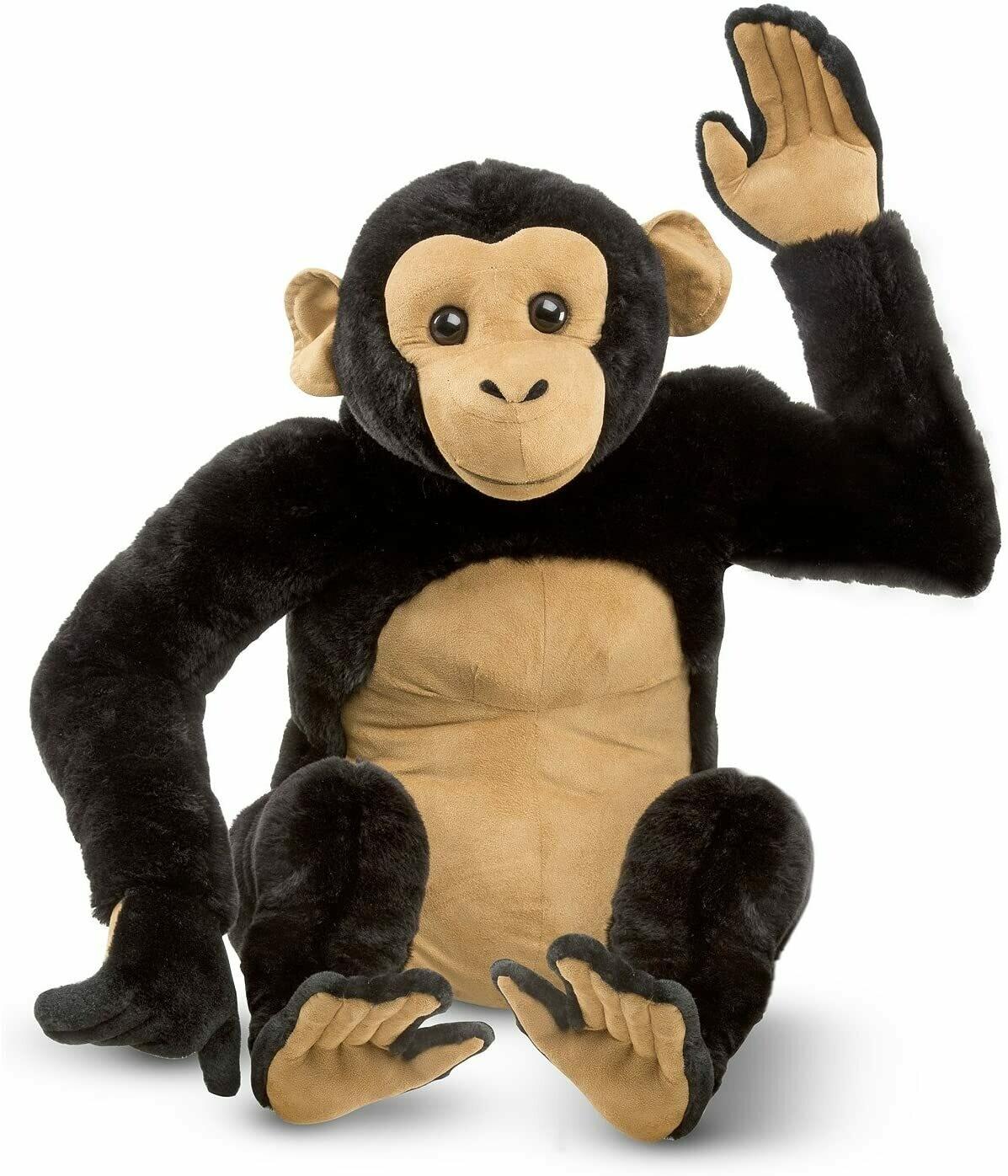 Melissa And Doug; Chimpanzee - Plush