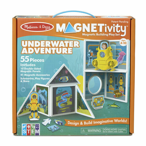 Melissa And Doug; Magnetivity - Underwater Adventure Set