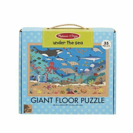Melissa And Doug; Np Giant Floor Puzzle - Under The Sea