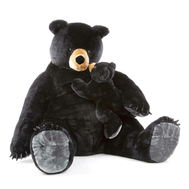 Melissa And Doug; Black Bear And Cub - Plush