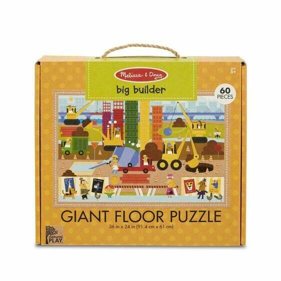 Melissa And Doug; Np Giant Floor Puzzle - Big Builder