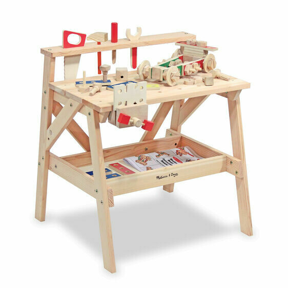 Melissa And Doug; Wooden Project Workbench