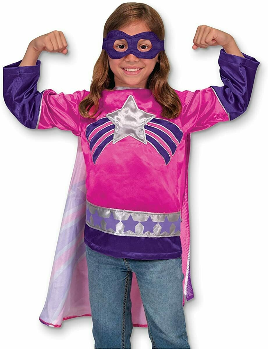 Melissa And Doug; Super Hero - Girl Role Play