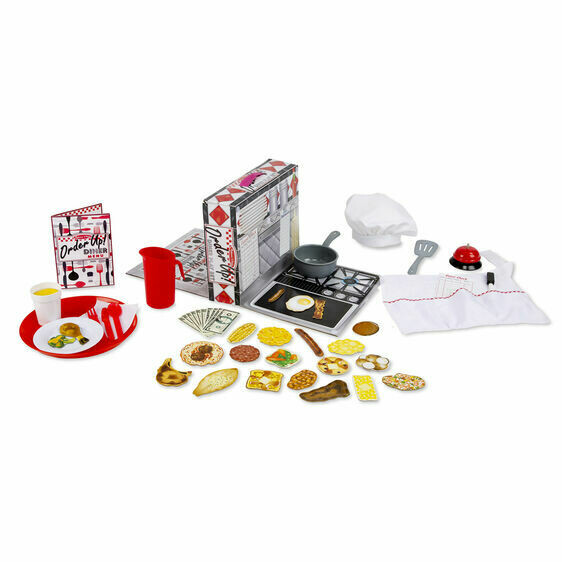 Melissa And Doug; Order Up Diner Play Set
