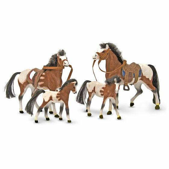 Melissa And Doug; Horse Family