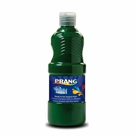 Prang; Washable Paint Green 16Oz