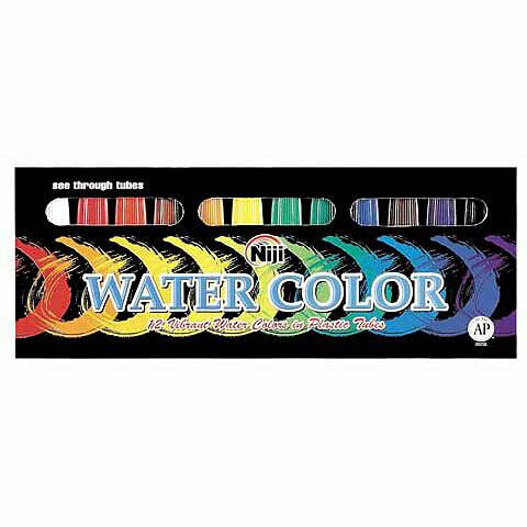 Niji; Watercolor Sets, 12-Color Set