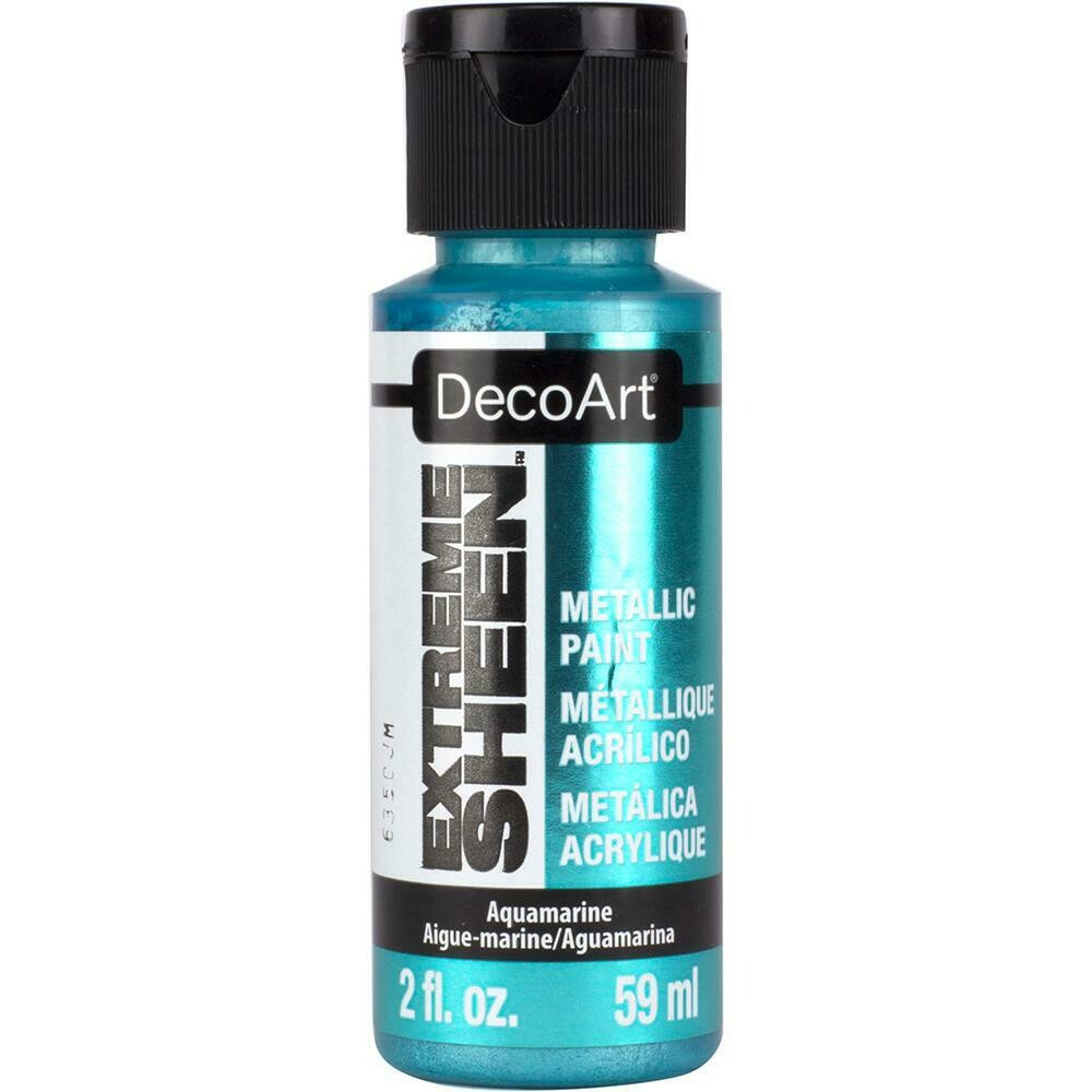 Decoart; Extreme Sheen 2Oz Aquamarine