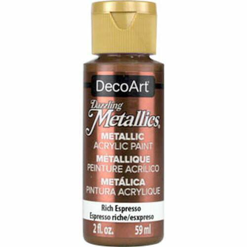 Decoart; Americana Acrylic Colors, Rich Espresso - 2 Oz. Bottle