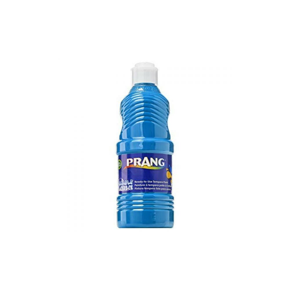 Prang; Tempera Washable Paint Turquoise 16Oz