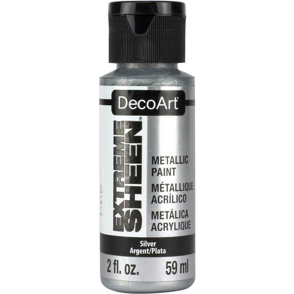 Decoart; Extreme Sheen 2Oz Sterling Silver