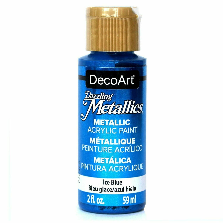 Decoart; Americana Acrylic Colors, Ice Blue - 2 Oz. Bottle