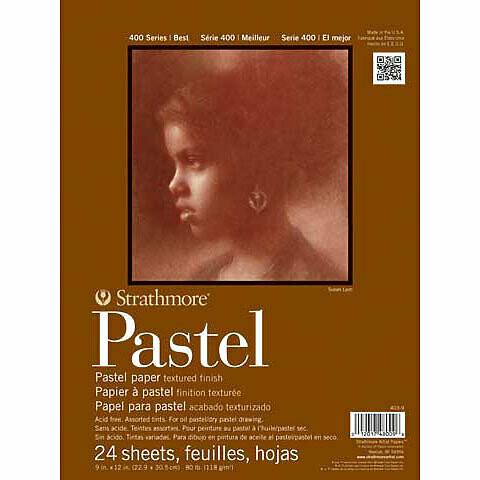Strathmore; Pastel 400 11X14 Tape-Bound Sketchbook 24 Sheets