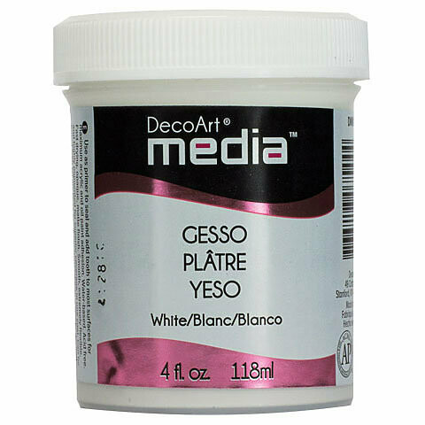 Decoart; Media Gesso 4Oz White