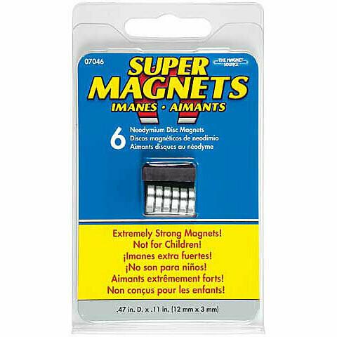 Magnet Source; Magnet Super .315 X.118
