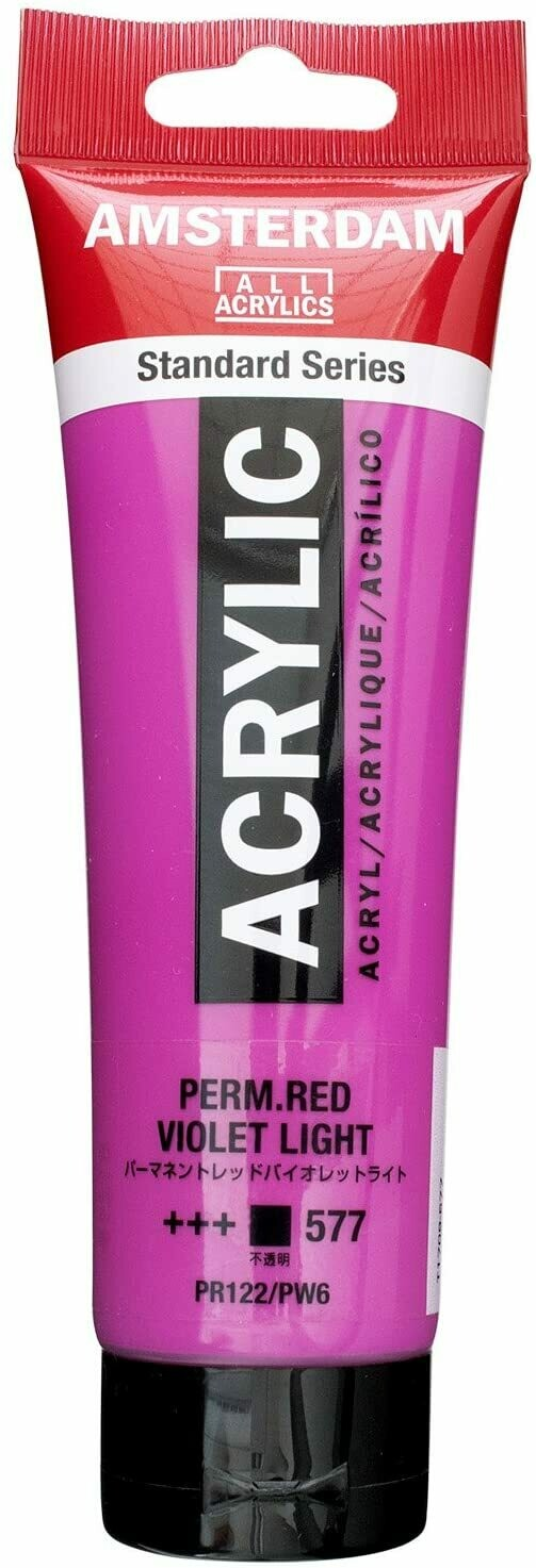Amsterdam; Standard Acrylics, 120Ml Tubes, Permanent Red Violet