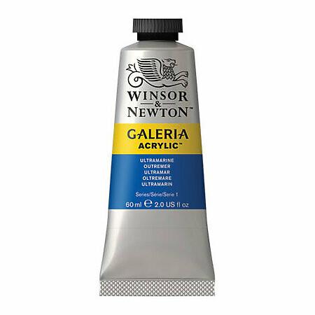 Winsor & Newton Galeria Acrylics, 60Ml Tubes, Ultramarine