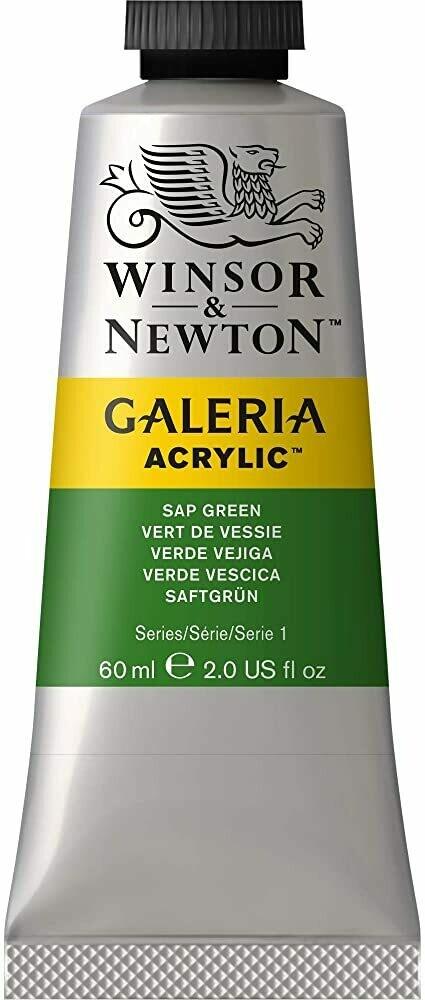 Winsor & Newton Galeria Acrylics, 60Ml Tubes, Sap Green