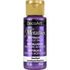 Decoart; Americana Acrylic Colors, Amethest - 2 Oz. Bottle