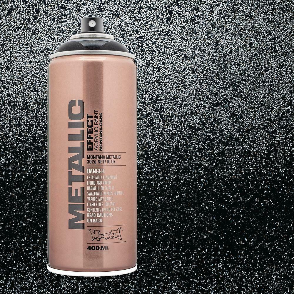 Montana; Metallic Spray, Black